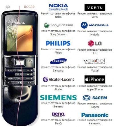 Ремонт мобильных телефонов в Астрахани